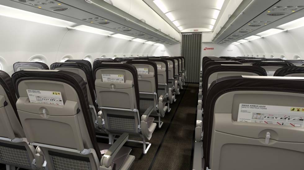 Swiss-Personal beklagt sich über Platz in Airbus A320 Neo