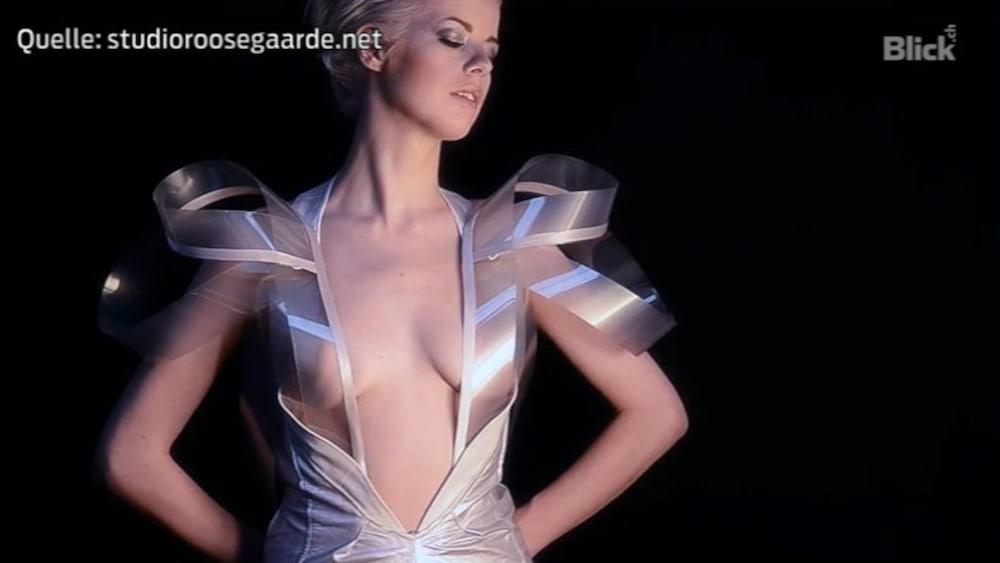 Neue Mode Kleider Werden Durchsichtig Wenn Frau Erregt Ist Neue