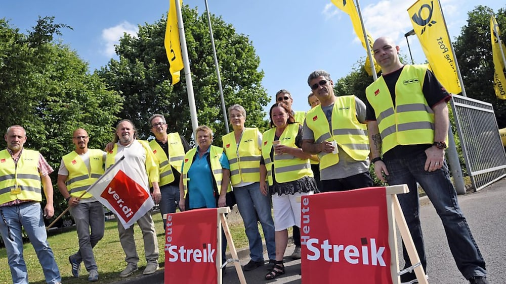 Verdi Deutsche Post Streik