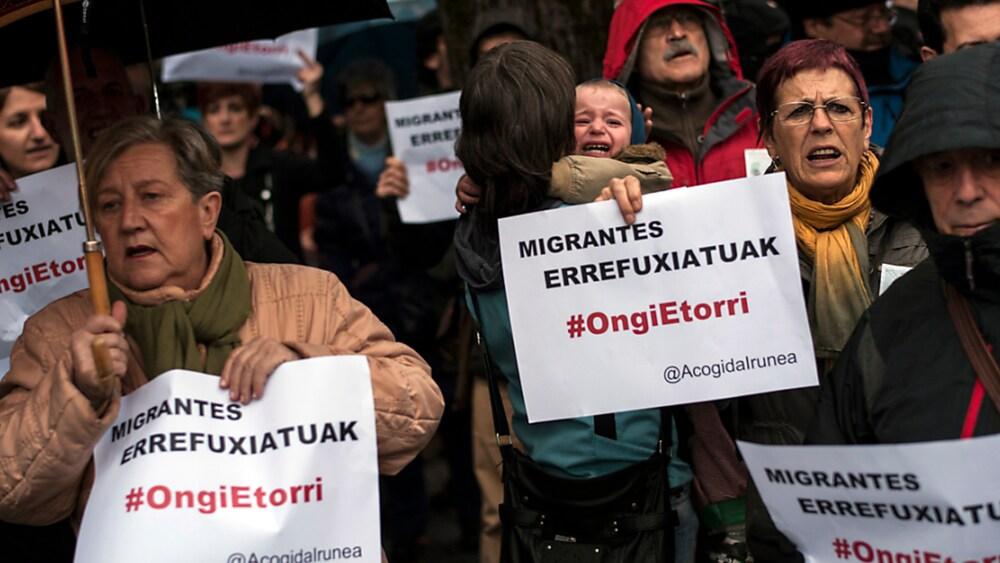 Flüchtlinge Spanien News