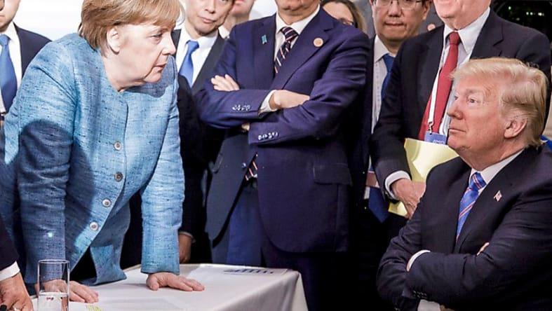 Merkel Besucht Trump